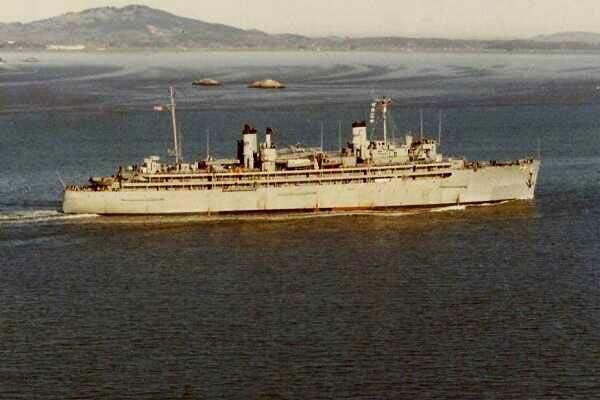 Uss Hector Ar 7 Navy Repair Ship Photos 5