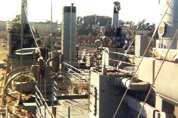 boatdeck view at Mare Island - 1976